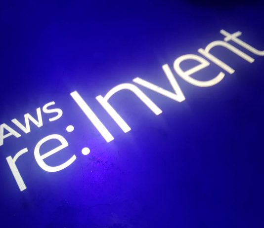 re:Invent logo